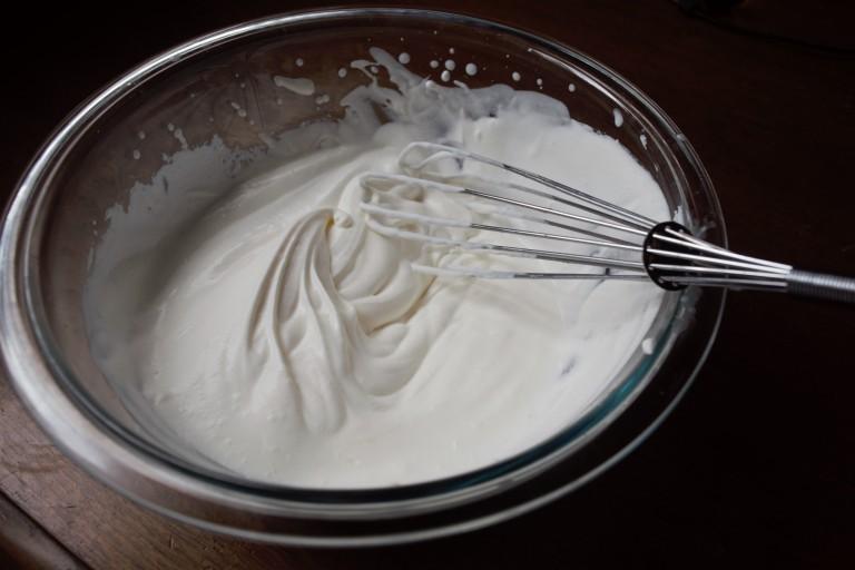 whiped cream