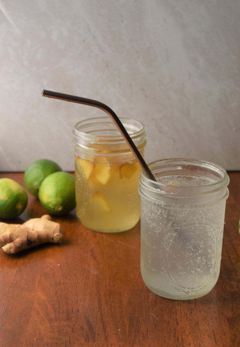 A moscow mule is a perfect summer drink - and this one will help you keep your summer bod!