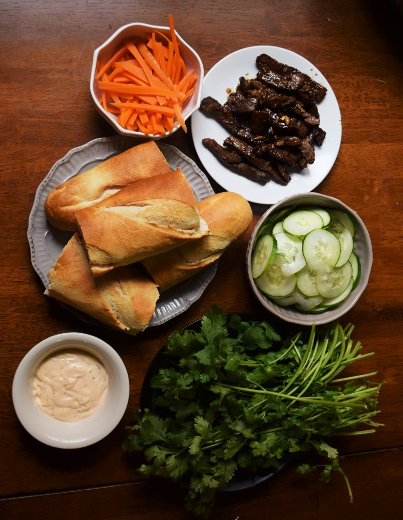 Simple, unfussy banh mi without specialty ingredients!
